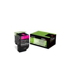 Lexmark 802M Magenta Toner 1000 pag. CX310dn,CX310n ,CX410de,CX410dte ,CX410e. 80C20M0)
