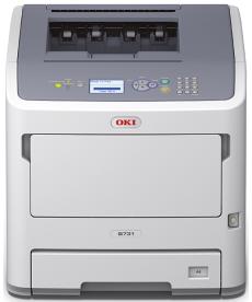 Imprimanta OKI LED B731dnw,mono, A4, 52ppm