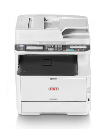 Multifunctionala (MFP) LED  Oki MC363dn - copiator, imprimanta, scanner, fax - color, duplex, A4