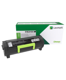 Toner Lexmark MS,MX4,5,617, Black , 8.5k -(8500pag.) Original. 51B2H00