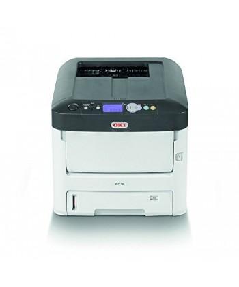 OKI C712dn A4, Imprimanta color max 36ppm mono, 34ppm color