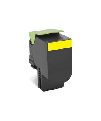 Toner  Yellow 1000 pag.Lexmark.(80C20Y0) original
