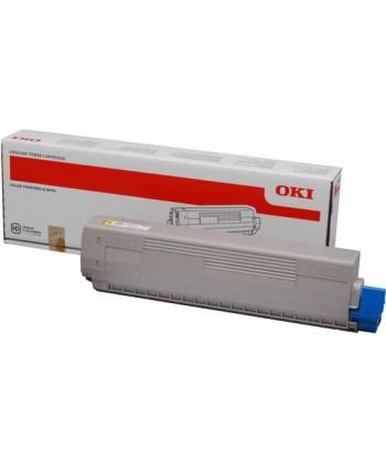 Toner OKI-C831/C841/C831DM-Yellow-10K
