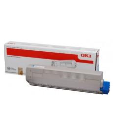 Toner OKI-C831/C841/C831DM-Cyan-10K.