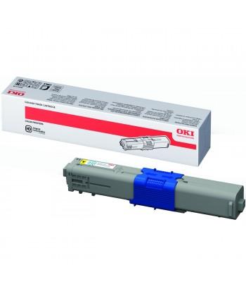 Toner OKI-C510/C511/C530/C531/MC561/MC562-Yellow (5K). 5000 pag.original.44469722