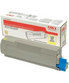 TONER OKI-C332/MC363-Yellow-3K.Original