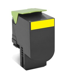 Yellow Toner 2000 pag.Lexmark.CX310,410,510
