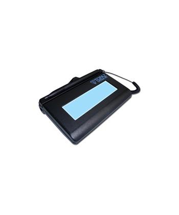 SigLite Backlit LCD 1x5 HID USB- T-LBK460-HSB-R TOPAZ-SUA